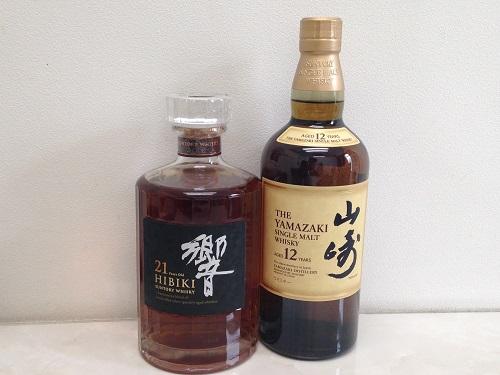 お酒 サントリー 山崎12年 響21年