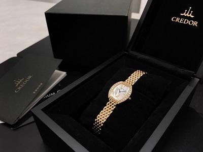 SEIKO セイコー クレドール ピクウェ 2013年限定 GTWE890 金無垢 レディース 腕時計 高価買取 七条店