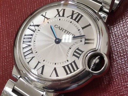 カルティエ バロンブルー MM W69011Z4 SS 出張買取
