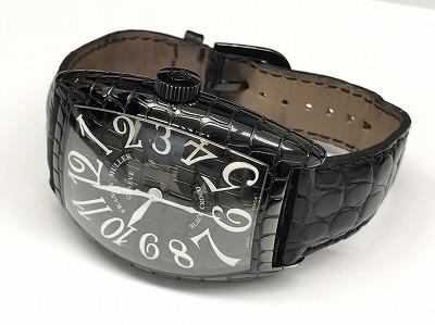 フランクミュラー(FRANCK MULLER) ブラッククロコ 腕時計 オールブラック 京都 北山 左京区 松ヶ崎 上京区