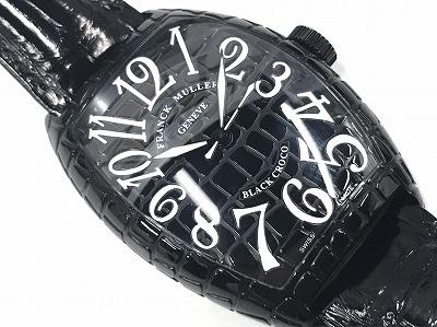 フランク・ミュラー(FRANCK MULLER) ブラッククロコ 8880SC BLK CRO 買取 渋谷