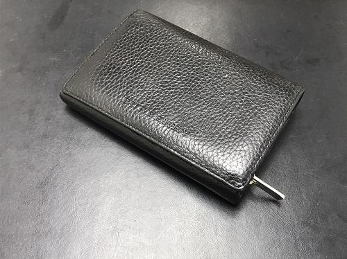 バーバリー(BURBERRY) 2つ折り財布 レザー 黒 北山 買取