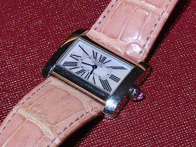 カルティエ(CARTIER) ミニタンクディヴァン 時計 腕時計