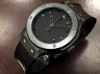 ウブロ(HUBLOT) クラシック 腕時計  京都 左京区 上京区 北区 北山 下鴨