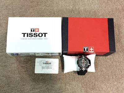 ティソ(TISSOT) 時計 メンズ ステンレス 箱・保証書付 ブラック マルカ 出張買取 高価買取