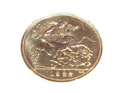 金貨 コイン K22 金 ソブリン金貨 資産 マルカ 西大路七条店 高価買取