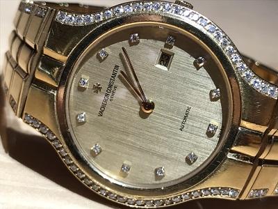 ヴァシュロンコンスタンタン(VACHERON CONSTANTIN) メンズウォッチ 時計 腕時計 金 ダイヤ ブランド