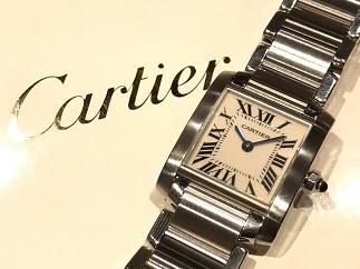 Cartier カルティエ タンクフランセーズSM ブランド品 時計買取 質屋 福岡天神 博多