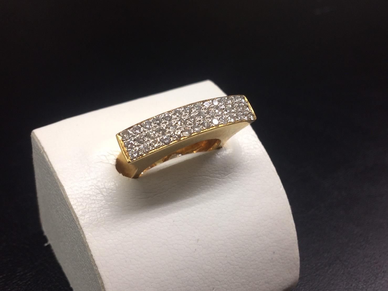 ダイヤモンドリング K18 0.68ct 12.7g 高価買取 宝石 マルカ