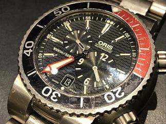 ORIS オリス TT1プロフェッショナルダイバーズ デァ・マイスタータウリー 649.7541 時計買取 福岡天神 博多