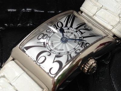 FRANK MULLER フランクミュラー ロングアイランド 802QZ 腕時計 高価買取 七条店 西院