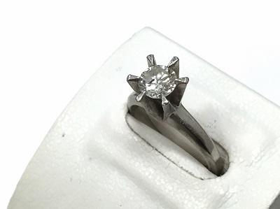 ダイヤモンドリング Pt900 0.81ct 6.7g 宝石 買取 マルカ