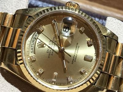 ロレックス(ROLEX) デイデイト 腕時計 メンズウォッチ 18238A
