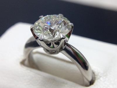 ダイヤモンド 2.30ct リング Pt900 プラチナ 宝石 高価買取 七条店