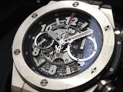 HUBLOT ウブロ ビッグバンウニコ チタニウム 411.NX.1170.RX 腕時計 美品 高価買取 七条店 西院 西京極