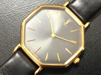 イヴサンローラン レディースウォッチ GP 時計 レザー クォーツ マルカ 西大路七条店 高価買取