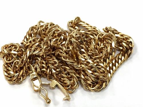 18金 ネックレス 貴金属 遺品整理 出張買取