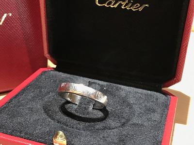 カルティエ(CARTIER) リング 指輪 ハッピーバースデー ブランドジュエリー