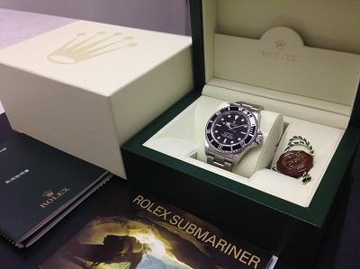 ROLEX ロレックス サブマリーナ ノンデイト Ref.14060M 腕時計 美品 高価買取 七条店