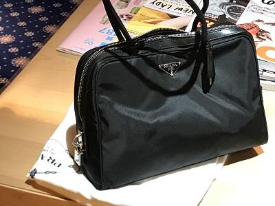 プラダ(PRADA) ハンドバッグ  ナイロン bag ブランド