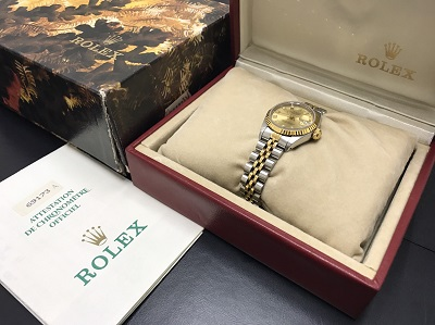 ROLEX ロレックス デイトジャスト レディース Ref.69173G 腕時計 高価買取 七条店