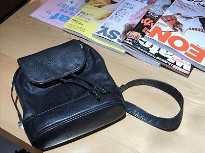 シャネル(CHANEL) ショルダーリュック bag ブランド キャビア