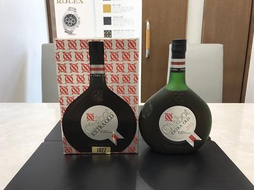 お酒 シャボー(CHABOT) エクストラオールド 700ml ブランデー ウイスキー 七条 買取