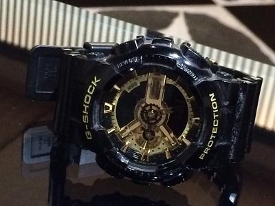 カシオ Gショック  GA-110 Gショック高価買取中!