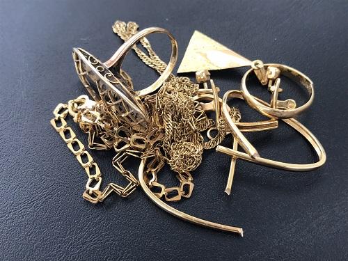 金 地金 18金まとめ 指輪 ネックレス