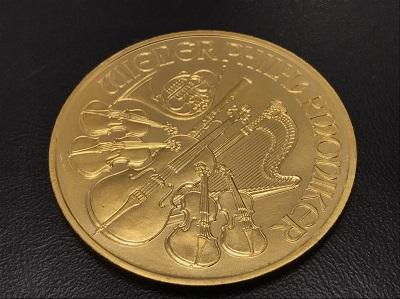 K24 純金 オーストリアウィーン金貨 1OZ コイン 地金 高価買取 七条店