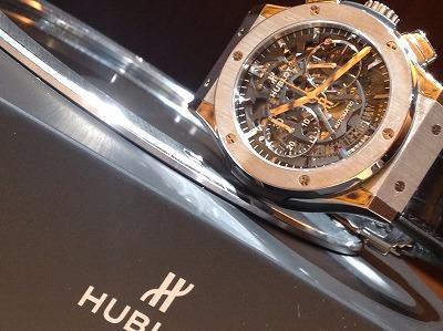 ウブロ(HUBLOT) アエロバン クラシックフュージョン クロノグラフ クロノグラフ 腕時計 高価買取り 河原町 烏丸