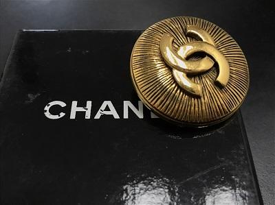 CHANEL シャネル ブローチ ココマーク GP ヴィンテージ バブル 高価買取 七条店