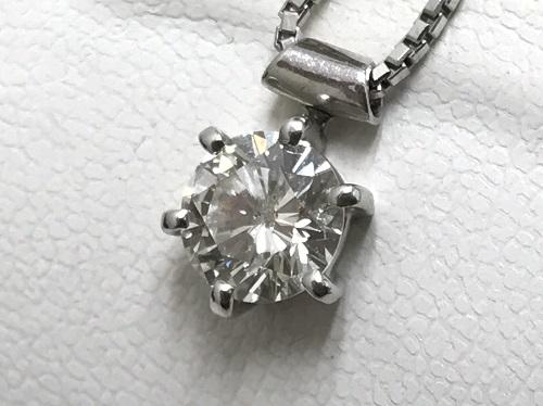ダイヤモンドペンダント プラチナ850 900 ダイヤモンド1.569カラット