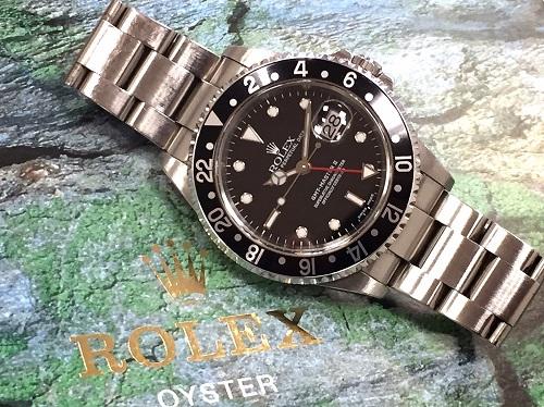 ロレックス GMTマスターⅡ 16710 P番 中古品