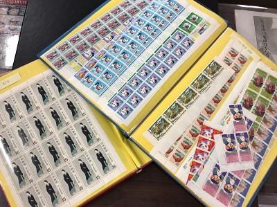 切手 普通シート 記念シート 小型シート バラ 切手買取 三宮 元町 神戸