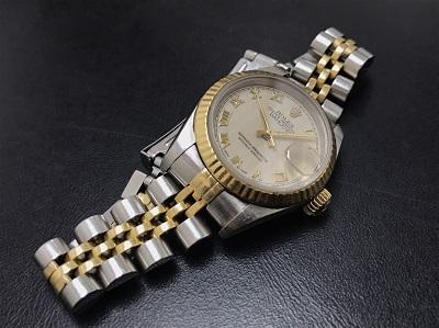 ROLEX ロレックス デイトジャスト レディース Ref.69173 腕時計 高価買取 七条店