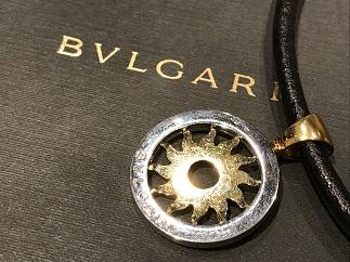 BVLGARI ブルガリ トンドサン チョーカー 750 ステンレス ブランド品買取 福岡天神 博多 質屋
