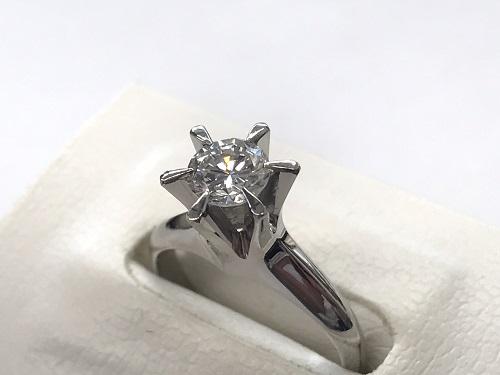 ダイヤモンド リング プラチナPt900 ダイヤモンド0.569 カラット