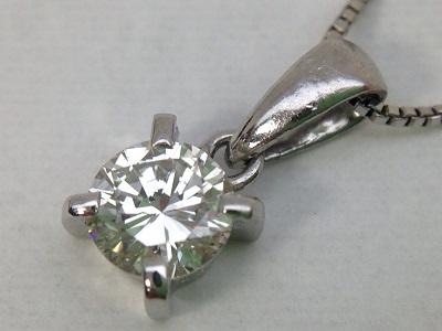ダイヤモンドネックレス Pt850 0.36ct 5.4g 宝石 貴金属 プラチナ 神戸三宮 買取