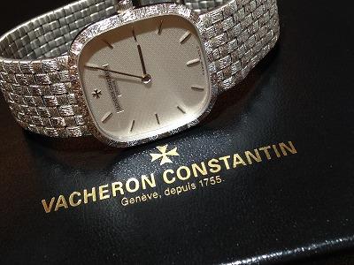 ヴァシュロンコンスタンタン(VACHERON CONSTANTIN)