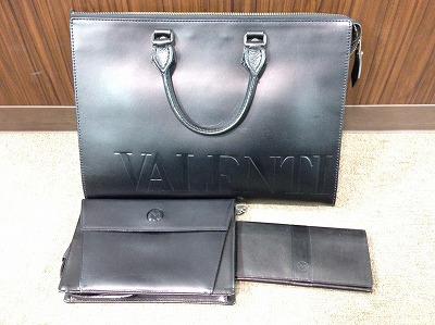 ヴァレンチノ ミラショーン レザー製品 バッグ 財布 ブラック マルカ 西日本センター 宅配買取り 高価買取り
