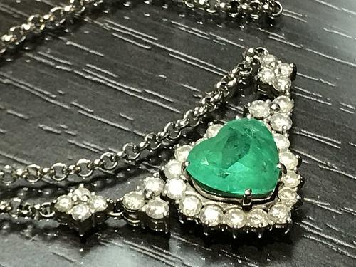 エメラルド(EMERALD) リング 指輪 プラチナ ダイヤモンド(DIAMOND)宝石