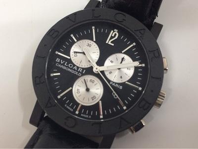 ブルガリ(BVLGARI)ブルガリブルガリカーボンクロノ BB38CLCH 時計買取 銀座 京橋 新富町