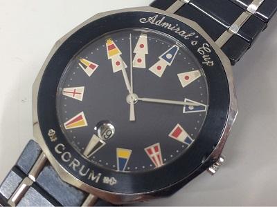 コルム アドミラルズカップ SS QZ Ref.99.810.30 銀座 渋谷 時計 買取