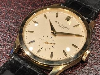 PATEK PHILIPPE パテックフィリップ カラトラバ 5096J 時計買取 福岡天神 博多 質屋