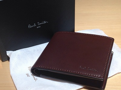 ポールスミス(PAUL SMITH) 二つ折り財布 新品