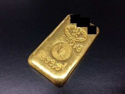 インゴット K24 スイスバンク 純金 延べ棒 国際取引 250g 関西 一番 高い 四条 烏丸 マルカ