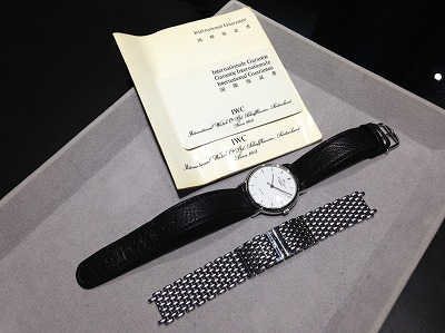 IWC ポートフィノ Ref3514 アンティーク渋谷買取時計