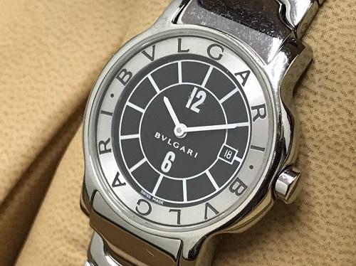 ブルガリ 時計 ソロテンポ ST29S SS 中古 箱