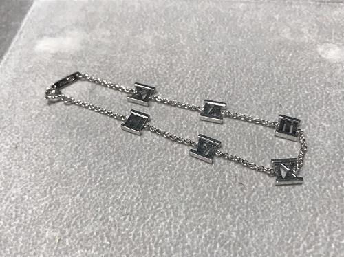 ティファニー Tiffany&Co アトラスブレスレット 750WG 買取 渋谷 宮益坂